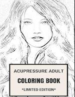 Acupressure Adult Coloring Book