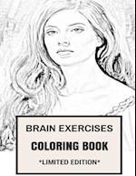 Brain Exercises Coloring Book