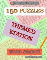 150 Word Search Puzzles - Themed Edition