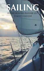 Sailing Pocket Monthly Planner 2017