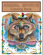 Animal Sprits Coloring Book
