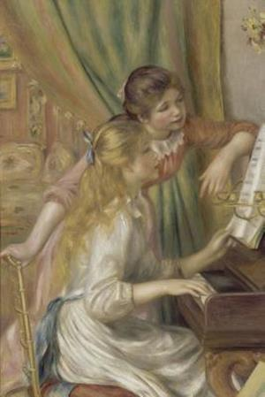 Pierre-Auguste Renoir's 'Young Girls at the Piano' Art of Life Journal (Lined) af Ted E. Bear Press