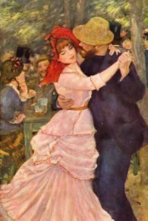 Bog, paperback Pierre-Auguste Renoir's 'Dance at Bougival' Art of Life Journal (Lined) af Ted E. Bear Press