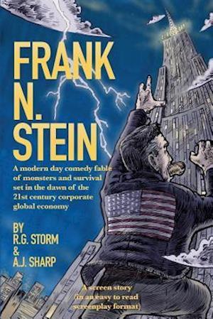 Bog, paperback Frank N. Stein af R. G. Storm, A. J. Sharp