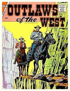 Bog, paperback Outlaws of the West # 15 af Charlton Comics Group