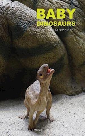 Bog, paperback Baby Dinosaurs Pocket Monthly Planner 2017 af David Mann