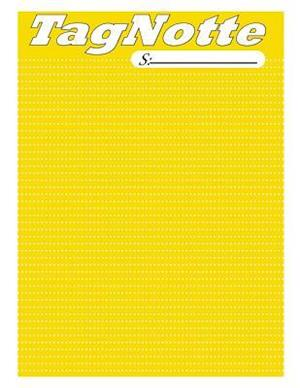 Bog, paperback Tagnotte, 240 Page, Notebook