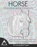 Horse Colouring Book for Adults
