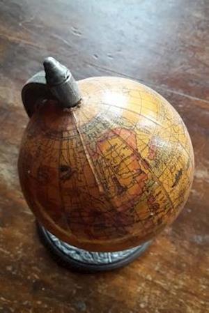 Bog, paperback Vintage Globe Journal af Cs Creations