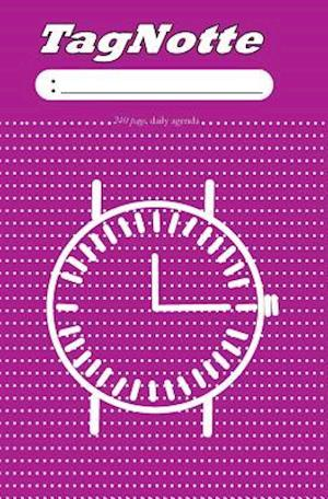 Bog, paperback Tagnotte, Daily Agenda, 240 Page, Date, Time, Dotted Line