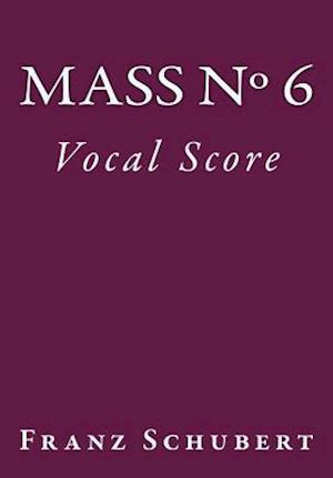 Bog, paperback Mass No. 6 af Franz Schubert