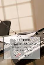 Reactive Programming Basics