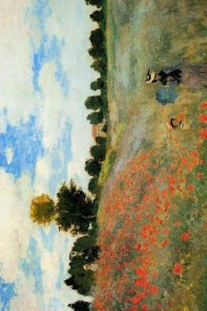Bog, paperback Claude Monet's 'The Poppy Field Near Argenteuil' Art of Life Journal (Lined) af Ted E. Bear Press