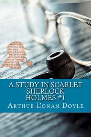 Bog, paperback A Study in Scarlet af Arthur Conan Doyle