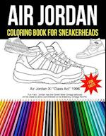 Air Jordan Coloring Book for Sneakerheads