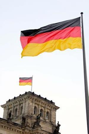 Bog, paperback The German National Flag Flying at the Bundestag in Germany af Unique Journal