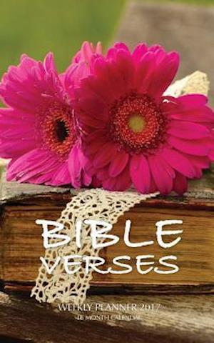 Bog, paperback Bible Verses Weekly Planner 2017 af David Mann
