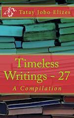 Timeless Writings - 27