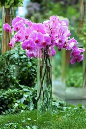 Bog, paperback Purple Orchids in a Vase Journal af Cs Creations