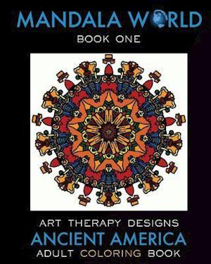 Bog, paperback Mandala World af Art Therapy Designs, Maya Necalli