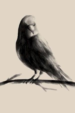 Bog, paperback Raven Watercolor Art Journal af Cs Creations