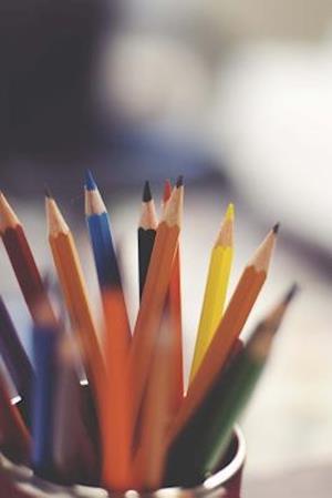 Bog, paperback Colored Pencils Art Journal af Cs Creations