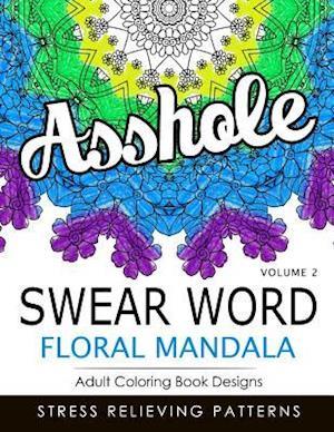 Bog, paperback Swear Word Floral Mandala Vol.2 af Indy Style