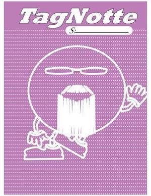 Bog, paperback Tagnotte, MR.Smileyhead, Notebook