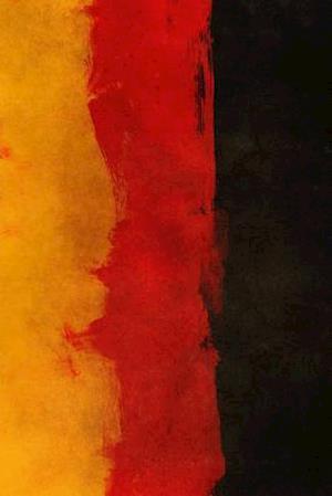 Bog, paperback A Painted German National Flag af Unique Journal