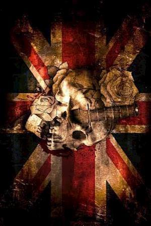 Bog, paperback A Painted Skull and Union Jack British Flag af Unique Journal