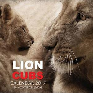 Bog, paperback Lion Cubs Calendar 2017 af David Mann
