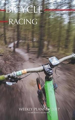 Bog, paperback Bicycle Racing Weekly Planner 2017 af David Mann