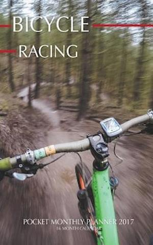 Bog, paperback Bicycle Racing Pocket Monthly Planner 2017 af David Mann
