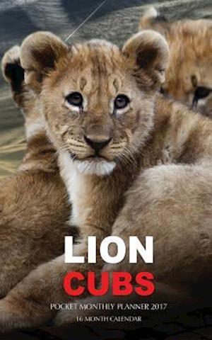 Bog, paperback Lion Cubs Pocket Monthly Planner 2017 af David Mann