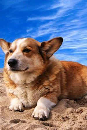Bog, paperback Welsh Corgi Relaxing on the Beach, for the Love of Dogs af Unique Journal