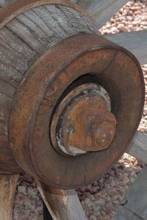Bog, paperback Website Password Organizer Antique Wagon Wheel in the Desert af Unique Journal