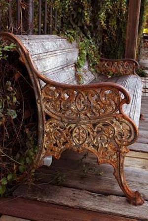 Bog, paperback Antique Rustic Park Bench Journal af Cs Creations