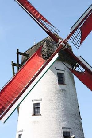 Bog, paperback Windmill in Bruges Belgium Journal af Cs Creations