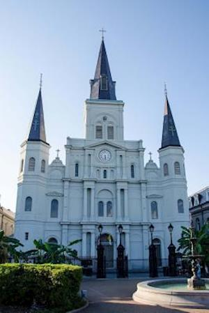 Bog, paperback St. Louis Cathedral in New Orleans Louisiana Journal af Cs Creations