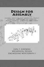 Design for Assembly af Carl F. Zorowski