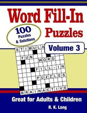 Bog, paperback Word Fill-In Puzzles, Volume 3 af R. K. Long