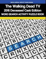 Walking Dead 2016 Deceased Cast Word Search Activity Puzzle Book