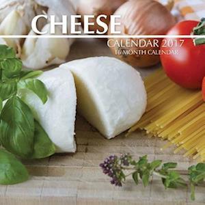 Bog, paperback Cheese Calendar 2017 af David Mann