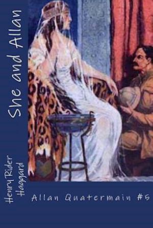 Bog, paperback She and Allan af Henry Rider Haggard
