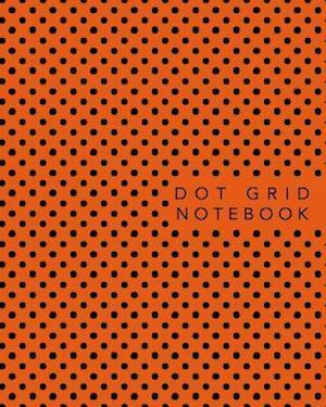 Bog, paperback Dot Grid Notebook af Book Design Ltd