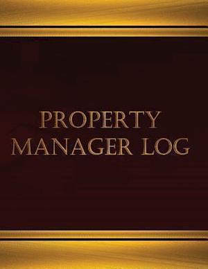Bog, paperback Property Manager (Log Book, Journal - 125 Pgs, 8.5 X 11 Inches) af Centurion Logbooks