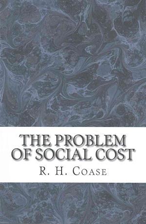 Bog, paperback The Problem of Social Cost af R. H. Coase