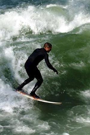 Bog, paperback Surfer Catching a Wave Journal af Cs Creations