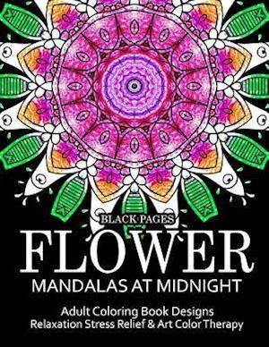 Flower Mandalas at Midnight Vol.1 af Relax Team