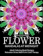 Flower Mandalas at Midnight Vol.1 af Relax Team
